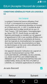 LG G4 - Premiers pas - Créer un compte - Étape 14