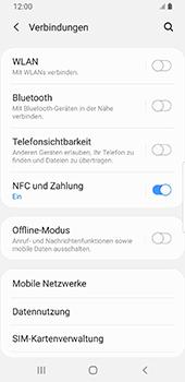 Samsung Galaxy S9 - Android Pie - Netzwerk - Netzwerkeinstellungen ändern - Schritt 5