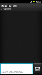 Sony Xperia J - MMS - Erstellen und senden - Schritt 10