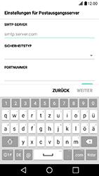 LG X Power - E-Mail - Konto einrichten - Schritt 14