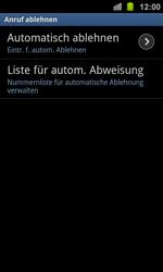 Samsung Galaxy Ace 2 - Anrufe - Anrufe blockieren - 6 / 13