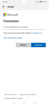 Huawei P30 - E-mails - Ajouter ou modifier votre compte Outlook - Étape 6