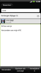 HTC Z710e Sensation - E-mail - hoe te versturen - Stap 11