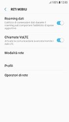Samsung Galaxy J3 (2017) - Internet e roaming dati - Disattivazione del roaming dati - Fase 6