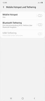 Samsung Galaxy A51 - WiFi - So aktivieren Sie einen WLAN-Hotspot - Schritt 6