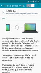 Samsung Galaxy A5 (A500FU) - Internet et connexion - Partager votre connexion en Wi-Fi - Étape 6