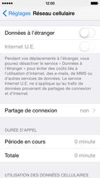 Apple iPhone 5 (iOS 8) - Internet et connexion - Partager votre connexion en Wi-Fi - Étape 4