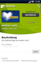 Sony Ericsson Xperia X8 - Apps - Herunterladen - 13 / 22