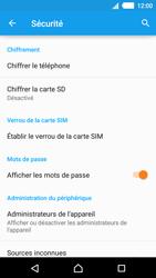 Sony Xperia M4 Aqua - Sécuriser votre mobile - Personnaliser le code PIN de votre carte SIM - Étape 5