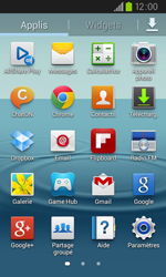 Samsung I9105P Galaxy S II Plus - E-mail - envoyer un e-mail - Étape 2