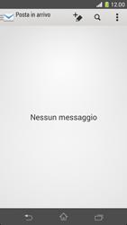Sony Xperia Z1 Compact - E-mail - configurazione manuale - Fase 19