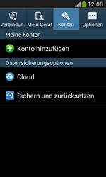 Samsung Galaxy Grand Neo - Fehlerbehebung - Handy zurücksetzen - 7 / 12