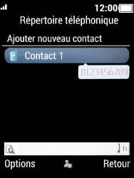 Crosscall Spider X5 - Contact, Appels, SMS/MMS - Ajouter un contact - Étape 11