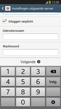 Samsung N9005 Galaxy Note III LTE - E-mail - Account instellen (IMAP met SMTP-verificatie) - Stap 13