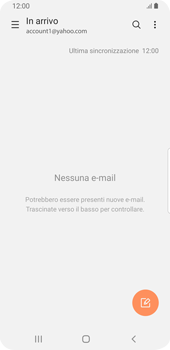 Samsung Galaxy S9 - Android Pie - E-mail - 032b. Email wizard - Yahoo - Fase 5