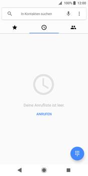 Sony Xperia XZ2 - Anrufe - Rufumleitungen setzen und löschen - 4 / 13