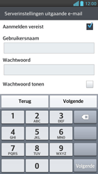 LG D505 Optimus F6 - E-mail - Handmatig instellen - Stap 12