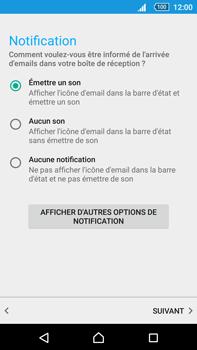 Sony Xperia Z5 Premium (E6853) - E-mail - Configuration manuelle (outlook) - Étape 11