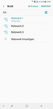 Samsung Galaxy A8 Plus (2018) - WLAN - Manuelle Konfiguration - Schritt 9
