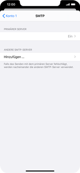 Apple iPhone 11 - E-Mail - Manuelle Konfiguration - Schritt 20