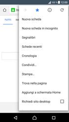 Sony Xperia XA - Internet e roaming dati - Uso di Internet - Fase 13