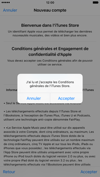 Apple iPhone 6s Plus - Applications - Configuration de votre store d