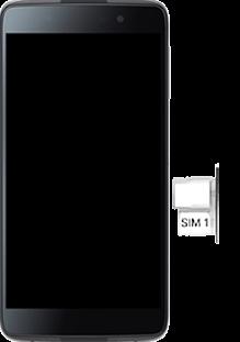 BlackBerry DTEK 50 - SIM-Karte - Einlegen - Schritt 4