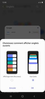 Samsung Galaxy Note 10 Lite - Internet et connexion - Naviguer sur internet - Étape 14