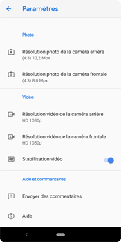 Google Pixel 3 - Photos, vidéos, musique - Créer une vidéo - Étape 9