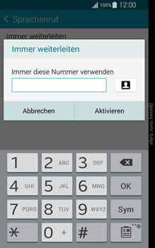 Samsung Galaxy Note Edge - Anrufe - Rufumleitungen setzen und löschen - 0 / 0