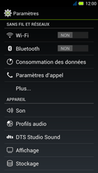 Acer Liquid E3 - Internet - Configuration manuelle - Étape 4