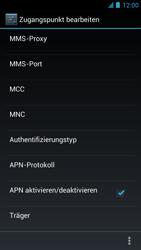 Alcatel One Touch Idol - Internet und Datenroaming - manuelle Konfiguration - Schritt 14