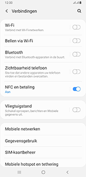 Samsung galaxy-a6-plus-sm-a605fn-ds-android-pie - NFC - NFC activeren - Stap 6