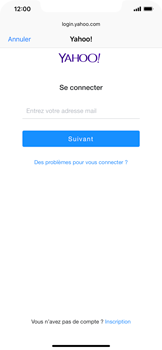 Apple iPhone XS Max - E-mail - Configuration manuelle (yahoo) - Étape 7
