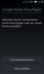 Huawei Y3 - Apps - Konto anlegen und einrichten - Schritt 3