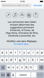 Apple iPhone 5 iOS 10 - Internet et roaming de données - Navigation sur Internet - Étape 5
