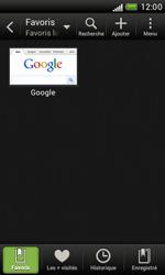 HTC Desire X - Internet et roaming de données - Navigation sur Internet - Étape 10