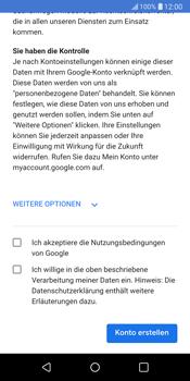 LG G6 - Apps - Konto anlegen und einrichten - 16 / 22