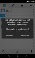Sony D2005 Xperia E1 - Contactgegevens overzetten - delen via Bluetooth - Stap 10