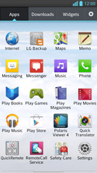 LG D505 Optimus F6 - Internet - Internet browsing - Step 2