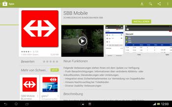 Sony Xperia Tablet Z LTE - Apps - Installieren von Apps - Schritt 22