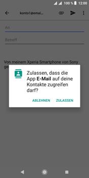 Sony Xperia L3 - E-Mail - E-Mail versenden - Schritt 5