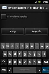 Sony C1505 Xperia E - E-mail - e-mail instellen: POP3 - Stap 12