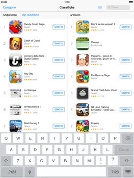 Apple iPad Retina iOS 7 - Applicazioni - Installazione delle applicazioni - Fase 10