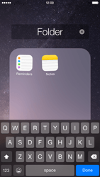 Apple iPhone 6 iOS 8 - Getting started - Personalising your Start screen - Step 7