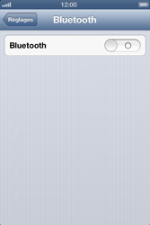 Apple iPhone 4S - Bluetooth - Jumelage d