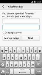 Huawei Ascend Y550 - E-mail - Manual configuration (yahoo) - Step 7