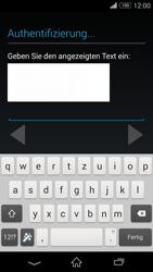Sony D6603 Xperia Z3 - Apps - Konto anlegen und einrichten - Schritt 18