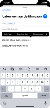 Apple iphone-11-model-a2221 - E-mail - Bericht met attachment versturen - Stap 9