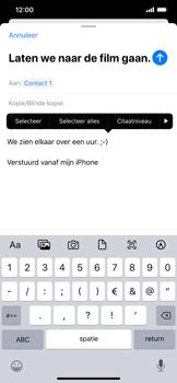 Apple iPhone 11 Pro Max - E-mail - e-mail versturen - Stap 8
